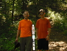 Tim And Bob At Deep Gap, Nc by kolokolo in Trail & Blazes in North Carolina & Tennessee