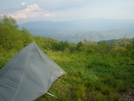 What a view at Cheoah Bald by Bear Cables in Section Hikers