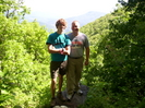 Trail traveler and brother on Mcafee's Knob Trail by f8lranger4x4 in Section Hikers