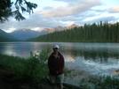 Glacier National Park-logging Lake Back Pack by cool breeze in Other Trails
