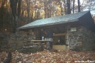 Pinefield Hut SNP by tribes in Virginia & West Virginia Shelters