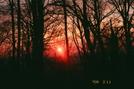 Sunset at Rock Springs Hut
