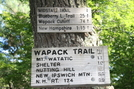 Wapack Trail Massachusetts/ New Hampshire