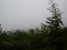 That's Bear Mtn....behind The Fog