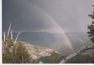 Rainbow Over Yellowstone