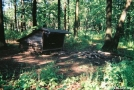 Earl Shaffer shelter by Old Hickory MH in Maryland & Pennsylvania Shelters