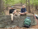 Break time by Old Hickory MH in Section Hikers