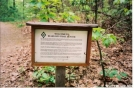 Sign to Bears Den by Old Hickory MH in Trail & Blazes in Virginia & West Virginia