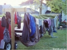 Drying gear at Miss Janet's by SalParadise in Hostels
