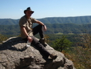 At Trail To Dragon's Tooth by FritztheCat in Trail & Blazes in Virginia & West Virginia