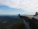 At To Mcafee's Knob by FritztheCat in Trail & Blazes in Virginia & West Virginia