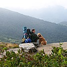 Tony and Sasha Kay on Appalachian trail by Chrissy K. McVay in Day Hikers