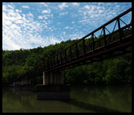 Appalachian Trail Bridge Over James River by volleypc in Views in Virginia & West Virginia