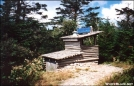 Thomas Knob Shelter Privy by Hikehead in Virginia & West Virginia Shelters