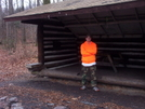 Ronin At Windsor Furnace Shelter by ~Ronin~ in Day Hikers