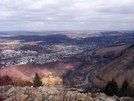 View Of Palmerton, Pa From North Trail
