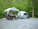 Camping At Elizabeth Furnace, Virginia