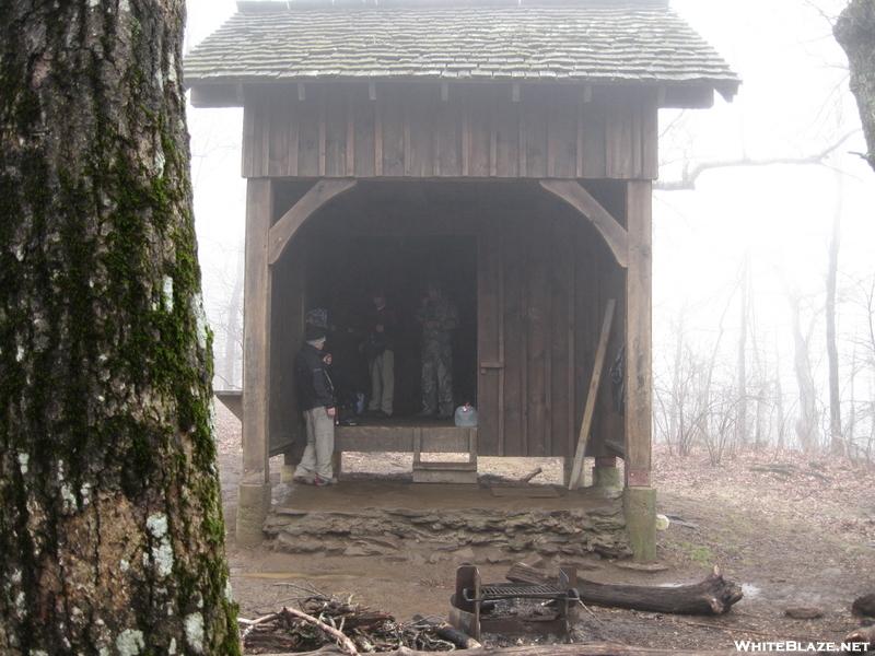 Springer Mountain Shelter