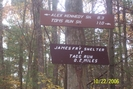 James Fry Shelter Sign by ShakeyLeggs in Trail & Blazes in Maryland & Pennsylvania