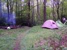 Campsite Near Bluff Mtn by Highstepper in Members gallery