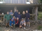 The Gang At Icewater Spring Shelter GSMNP