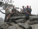Scouts On Hanging Rock by MonkeyButtNC in Section Hikers