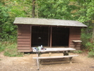 Maupin Field Shelter & Privy by Bilbo in Virginia & West Virginia Shelters