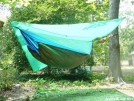JRB Nest on HH Racer & 8x8 Tarp by Smee in Hammock camping