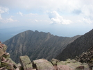 Looking Off At Knifes Edge From The Top Of Mt. Katahdin