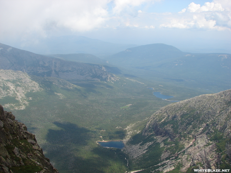 Looking Off From The Top Of Mt. Katahdin