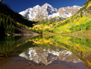 Sept. At Maroon Bells In Aspen, Co by rdsoxfan in Other Galleries