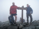 1st Wk Of Sept. On Mt. Washington, 37 Degrees, 78 Mph Wind.