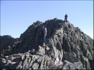 Coming Down Knifes Edge On Mt. Katahdin by rdsoxfan in Other Galleries