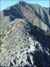 Western Edge Of Knifes Edge Trail On Mt. Katahdin