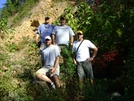 Near Watauga Dam 2008 by Barge in Section Hikers