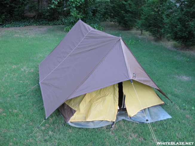One thing I do remember is that this was the first tent I bought with a rain fly. Prior to that I had a single wall nylon tent and prior to that ... & My nearly 30-year old tent