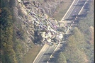 I-40 Rock Slide by MintakaCat in North Carolina &Tennessee Trail Towns