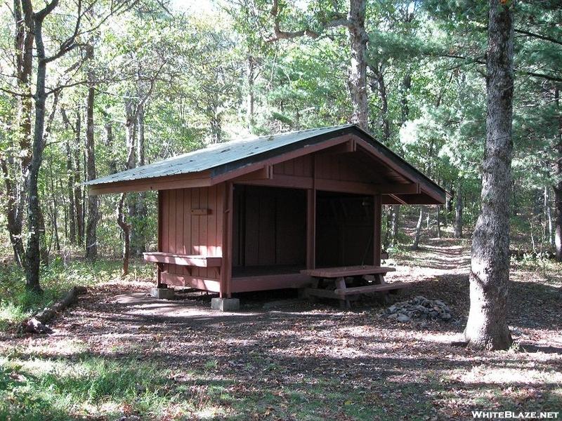 Whitley Gap Shelter