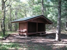Whitley Gap Shelter by MintakaCat in Whitley Gap Shelter