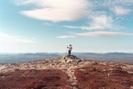 My First Big Summit by islandpam in Views in Maine
