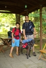 Us At Rph Shelter by Keith and Jack in Trail & Blazes in New Jersey & New York