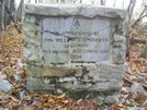 Memorial by Whiterook in Trail & Blazes in Maryland & Pennsylvania