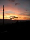 Sun Set Near Hot Springs by Father Dragon in Views in North Carolina & Tennessee