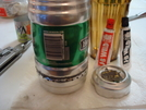 Heineken Keg Can With Heat Sink