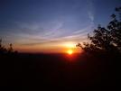 Sunset by Downhill Trucker in Trail & Blazes in Virginia & West Virginia