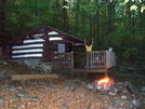 Crampton Gap Shelter by Downhill Trucker in Trail & Blazes in Virginia & West Virginia