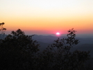 Sunset On The Southern Terminus Of The At by Mortician in Springer Mtn Gallery