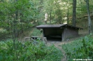 Double Springs Gap Shelter by Tripod in North Carolina & Tennessee Shelters