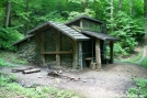 Davenport Gap Shelter by Tripod in North Carolina & Tennessee Shelters