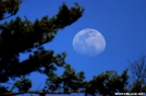 Full Moon by Tripod in Views in North Carolina & Tennessee